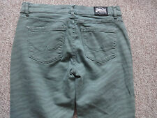 Superdry Vintage ladies jeans standard blue skinny pale green W28 L32 new +tags.