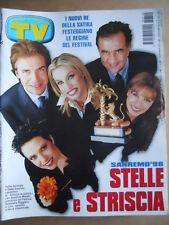 TV Sorrisi e Canzoni n°10 1998 Numero Speciale Festival Di Sanremo 98 [D6]