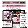 Beauty & Health Store Amazon Affiliate Dropshipping Website with 1000 Products