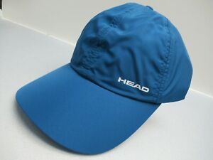 UNISEX HEAD LIGHT FUNCTION TONAL ADJ CAP TENNIS (BLUE/WHITE) #287090-BLWH