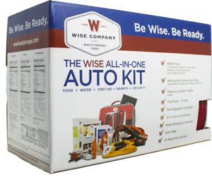 Wise Foods Emergency All In One Auto Kit - NEW