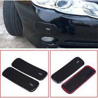 2 x Car Bumper Protect Scratches Shock Anti-collision Strip Corner Guard Sticker
