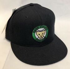 Vintage Kane County Cougars Baseball fitted  Cap Hat Black New Era size 7 1/8