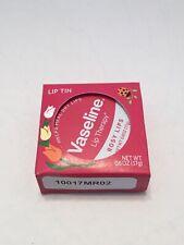 Vaseline Lip Therapy Rosy Lips 0.06 oz Lip Tin, SET OF 2. TINTED LIP BALM, PINK
