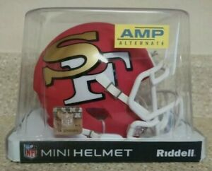 San Francisco 49ers Amp Speed Mini Helmet ~ Discontinued ~ Sold out