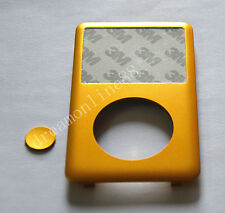 Custom Gold-Colored Front Panel/Faceplate for iPod 7th Gen Classic 160GB