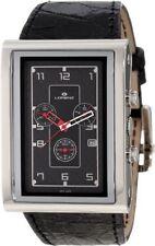 NEW Lorenz Men's 025923AA TB7 Big Rectangular Chronograph Watch