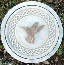 Concrete hummingbird celtic stepping stone plastic mold 5000 molds in my store