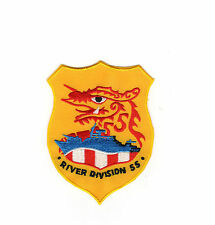River Division 55 - Dragon & boat BC Patch Cat. No. C5309