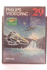 VINTAGE PHILIPS G7000 CONSOLE COMPUTER VIDEOPAC 29 DAM BUSTER GAME