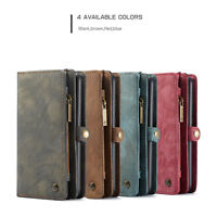For Huawei P20 Pro CaseMe Wallet Leather Removable Magnet Card Slots Cover Case