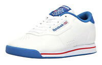 Reebok Classic Princess White, Blue, Red Womens Running Tennis Shoes V48950