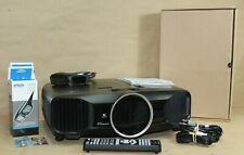 Epson Powerlite Pro Cinema 4030 2D/3D Projector H589a W/extras!!!