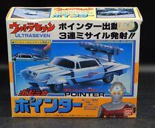 1992 vintage Japanese ULTRAMAN Ultra Seven POINTER car chogokin toy MIB Bandai !