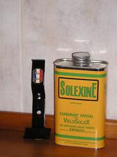 Solexine mit Halter -gelb- Benzindose bidon 1 Ltr. Velo solex