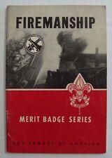 *Discontinued* Vtg 1965 Firemanship Merit Badge Series Pamphlet BSA Boy Scouts