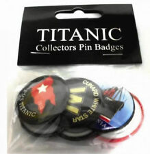 Badges Titanic Ocean Liner & Cruise Ship Collectables