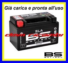 Batteria BS SLA Gel YAMAHA YZF-R1 1000 04>05 YZFR1 2004 2005 carica pronta x uso