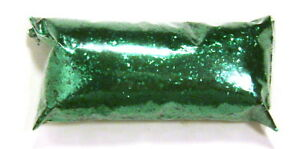 "1oz / 30ml Valley Green .025"" Metal Flake Paint Additive Large Chunky Metalflake"