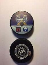 2018 NHL Winter Classic Puck  New York Rangers vs. Buffalo Sabres
