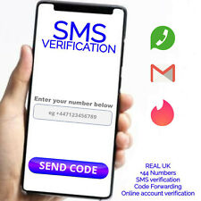 24 Hour SMS Verification Code Text Message service active UK SIM Card PVA UK +44