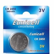 1 x Eunicell CR2450/DL2450 3v Lithium Button/Coin Cell Battery