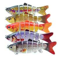 5pcs Bionic Swimming Lure Suitable For All Kinds Of Jointed Bait Multi Fish