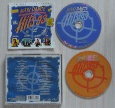 VERSION 2 CD ALBUM COMPILATION MAXI DANCE HITS 93 27 TITRES HADDAWAY DR ALBAN ..