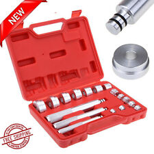 17Pcs Bearing Race Seal Driver Installer Remover Tool Set Wheel Axle bushing NEW
