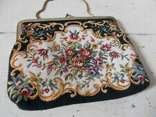 Vintage 1960s tapestry bag very good condition