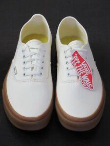 Vans Authentic Womens Classic Gum Marshmallow canvas Skate shoes Size 8.5 NWT