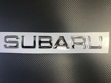 Subaru decal 3D domed, fits WRX STI All subaru models JDM Sticker