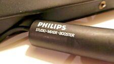 MICROPHONE STUDIO vintage PHILIPS STUDIO MIXER BOOSTER cardioid dynamic