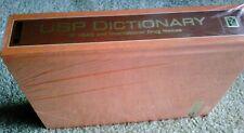 BRAND NEW!!  USP Dictionary 2011: Of USAN and International Drug Names Hardcover