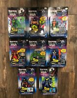 1998 Batman Knight Force Ninjas Action Figures (Kenner)
