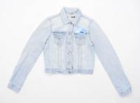 Topshop Womens Size 10 Denim Blue Jacket