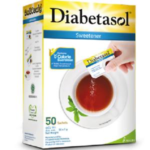 Diabetasol Sweetener Substitute Any Sugar Low Calorie Better Healthy Life 50pack