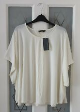 Blooming Marvellous Mothercare Cream Batwing Oversized Top Blouse Size 18 BNWT