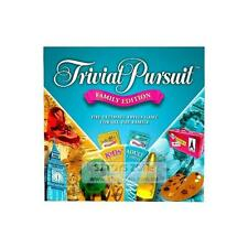 Hasbro Trivial Pursuit Family Edition Board Game with Kids Card and Adults Card