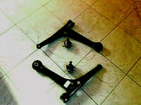 VW SHARAN 95-06 TWO FRONT LOWER WISHBONE SUSPENSION ARMS & TWO BALL JOINTS