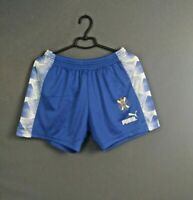 Tenerife Shorts Size M Mens Football Soccer Blue Puma ig93