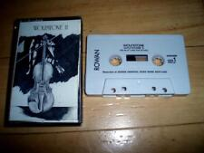 Wolfstone II - RARE UK cassette tape album (1990) Celtic folk rock Rowan RRIV18