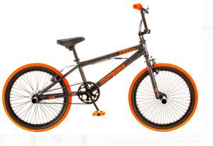 "Mongoose 20"" Outerlimit Bmx Bike, Dark Grey/Orange"