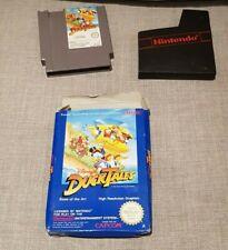 Duck tales Nintendo NES boxed and wallet No Manual