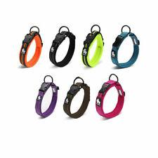 Truelove Dog Collar Padded Soft Strong High Viz Reflective xxs to xxxl 7 colours