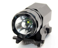 CREE XPG-R5 LED P05 Tactical Flashlight Torch QD Rail Mount For Glock G17 G19