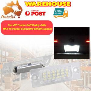 For Volkswagen Golf  Jetta Sedan LED Number License Plate Lights lamp 2PCS