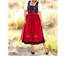 DIRNDL DIRNDLKLEID TRACHTENKLEID KLEID schwarz / rot Gr. 50 NEU