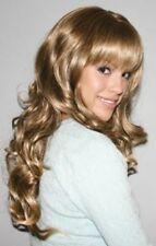 CHJF10529 charm long wavy style sexy Wig dark blonde health curly hair wigs