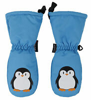 Kids Childrens 3M Thinsulate Snow Waterproof Ski Mittens Gloves